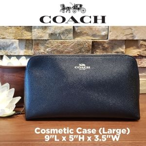 NEW Coach Cosmetic Case 22 (Large!)
